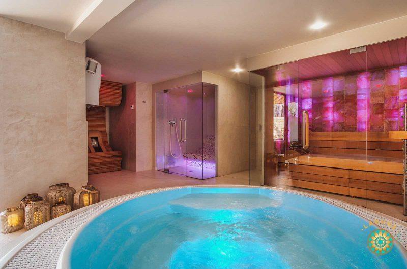 Jacuzzi, infrarood, stoom en sauna