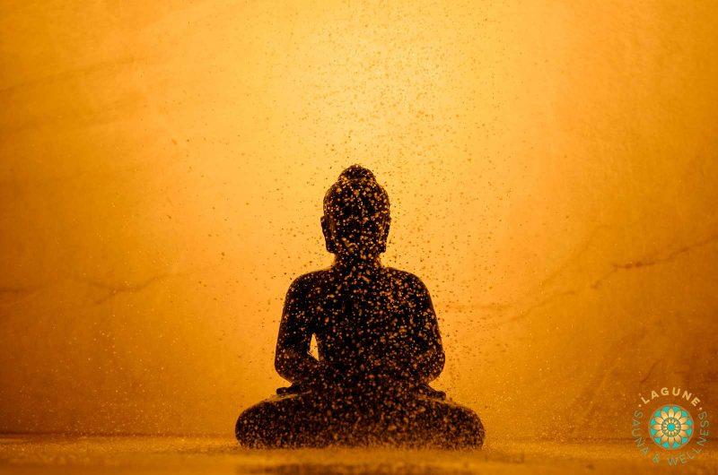 Zen in de regendouche